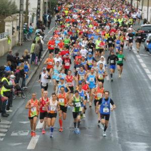 Le marathon de la Rochelle